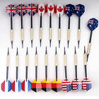 18 pcs of Soft Tip Darts 10g Slim for Electronic Dartboard with 36 Extra tips