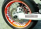 Wheel Sticker Supermoto Rims KTM SMC 690 LC4 660 625 SMR EXC 450 R