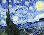 Starry Night by Vincent Van Gogh Giclee Museum Size Repro on Canvas