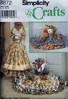 SIMPLICITY CRAFTS  8872  Draft Stoppers  COW, PIG PONY Sewing Pattern  Uncut