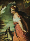 Rosenthal Framed porcelain plaque, Lady Hamilton, by George Romney