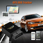 Mini OBD II GPS TRACKER Realtime Car Truck Vehicle Tracking GSM GPRS Device Spy