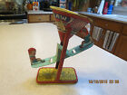 Vintage J. Chein Tin Sand Toy Lithograph See Saw/Teeter Totter Little Children