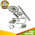 Timing Chain Kit Cover Gasket Set Water + Oil Pump Fits 99-01 Jeep 4.0L L6 OHV