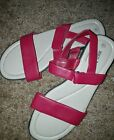 White Stag red sandal, womens sandal size 9.5