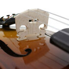 New 4/4 Full Size Natural Acoustic Wood Color Violin Fiddle with Case Bow Rosin