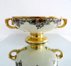 Antique Rosenthal Empire Porcelain Pedestal Bowl Signed By J. Reid