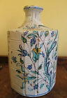 Antique 17th Century Italian DERUTA Saliera Maiolica Pottery Jug Bottle SIGNED