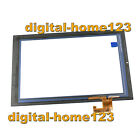 Touch Screen Digitizer Glass For Hewlett-Packard HP Slate7 Extreme 4450 Black