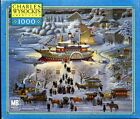 Charles Wysocki Americana 1000 Piece Puzzle ~ Toying with Dinner 04679-16