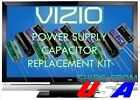 VIZIO E320VL E321VL E322VL LCD TV CAPACITORS REPAIR KIT 0500-0412-1010 U-FIX IT!