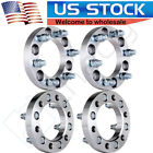 4 Pcs 1 25mm Wheel Spacers 6x55 Or 6x1397 Adapters 14x15 Studs For Chevrolet