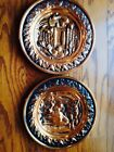 Vintage Coppercraft Guild Wall Plates