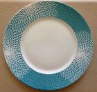222 Fifth Astor Teal Dinner Plates Set Of 4