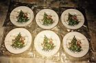 ***NEW IN PACKAGE Lot of 6 Fitz and Floyd St. Nicholas Salad Plates***