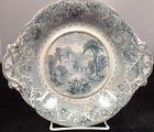 Antique Unmarked Staffordshire Blue Transfer
