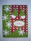 CHRISTMAS MITTENS Card Kit 4 cards lot Stampin up holiday