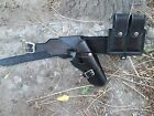 DAD Leathers Plain Wild Bunch Cross Draw Holster 1911