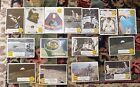 Man On The Moon Series Topps Gum Trading Cards