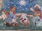 Boyds Bears  Friends Christmas Nativity Wall Hanging Tapestry 3 wise men gifts