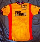 Vintage Darnois Dany Pret Porter Feminin Arcueil 94 Wool Jersey Cycling Bicycle