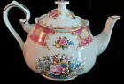 Vintage Royal Albert LADY CARLYLE Bone China Floral Tea Pot, China, 1944
