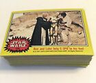 Star Wars 1977 Topps Series 3 Yellow 66 Card Set! No Reserve Trading Cards