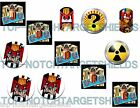 JUDGE DREDD  Pinball TARGET Cushioned Armour Decals-12- piece set