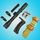 New Mosin Nagant 2 7x32 Long Eye Relief Scope COMBO Set for M44 M91 30 M39 M38