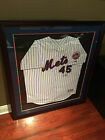 Pedro Martinez #45 New York Mets Signed Autographed Authentic Jersey HOF Steiner