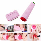 Professional Women Stamping Nail Art Double Ended Stamp Stamper Scraper Set
