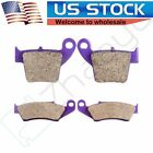 F+R Kevlar Carbon Brake Pads For HONDA CR 125 R CR 250 R CRF 250 R CRF 450