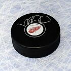 Mike Babcock Detroit Red Wings Autographed Hockey Puck-AJ Sports World COA