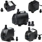 53 1450GPH Adjustable Submersible Water Pump Aquarium Pond Powerhead Hydroponic