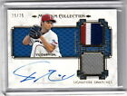 2014 Topps Museum Collection Yu Darvish Texas Rangers Auto Jersey Patch Gold 25
