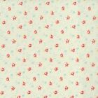 RJR Fabrics Bon Bon Bebe 2245 02 Small Floral On Blue Yardage By Robyn Pandolph