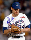 NOLAN RYAN AUTOGRAPHED HIT BY PITCH BLOODY TEXAS RANGERS 8x10 REPRINT PHOTO RP