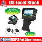 43TFT LCD Foldable CCTV Cam Audio Video Security Tester RJ45Cable Test Monitor