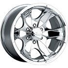 92 04 Chevy Tracker 17x8 5x55 +10 108 Warrior 187P Pacer Wheels Rims Polished