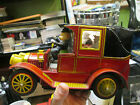 VINTAGE ALPS TOY TIN BATTERY OPERATED CAR IN GOOD CONDITION