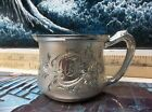 F. B. Rogers Silver CO 1883 Quadruple Silver plate Cup Child Cup