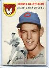 1954 Topps Baseball Card of Johnny Klippstein of the Chicagto Cubs EX Mint # 31