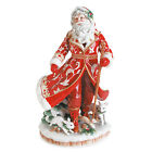New in box Fitz & Floyd Town & Country Centerpiece Santa Claus Figurine
