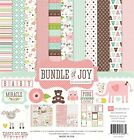 Echo Park Paper Bundle of Joy Girl Collection Scrapbooking Kit New