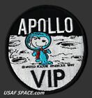 SNOOPY APOLLO VIP NASA 4 MOON LANDING SPACE PATCH MINT