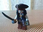 LEGO Pirates of the Caribbean JACK SPARROW w/ Tricorne Hat & Compass Minifigure