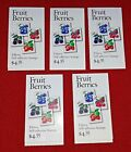 Three Booklets x 20  60 POLLINATION 41 2 Sided US PS Postage Stamps Sc 4153 56