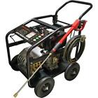 Neilsen 6hp electric start 3600psi diesel pressure washer 8 meter hose