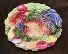 Fitz and Floyd Coq du Village Canopy Plate Rooster