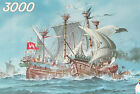 SEA BATTLE 3000 Piece Schmidt Jigsaw Puzzle 45x32